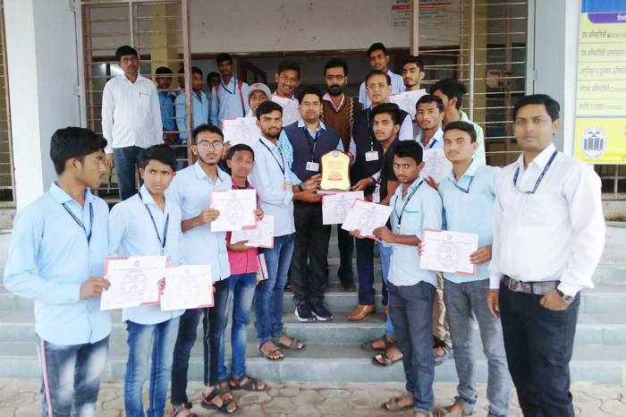 IEDSSA Kabaddi runner up Students of the Institute